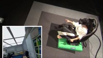 20樓7級強震到底多恐怖?坐上「VR飄移椅」保證濕的站起來
