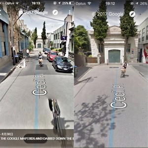 澳谷歌街景圖 單車騎士成功dab