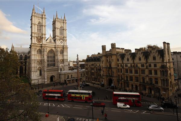 ▲英國倫敦西敏寺(Westminster Abbey)。(圖/路透社)