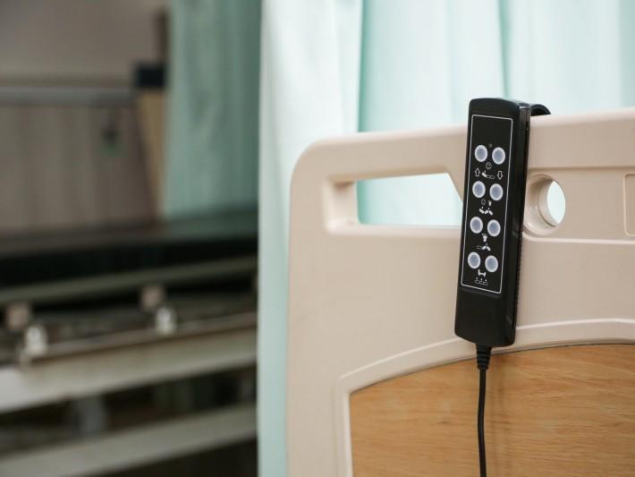 ▲ 健保給付病床,病床,電動病床,健保病房。(圖/記者林世文攝)