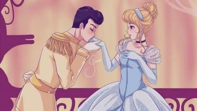 「少女漫畫Mix迪士尼」公主,嬌羞臉配迷濛眼好撩人呀