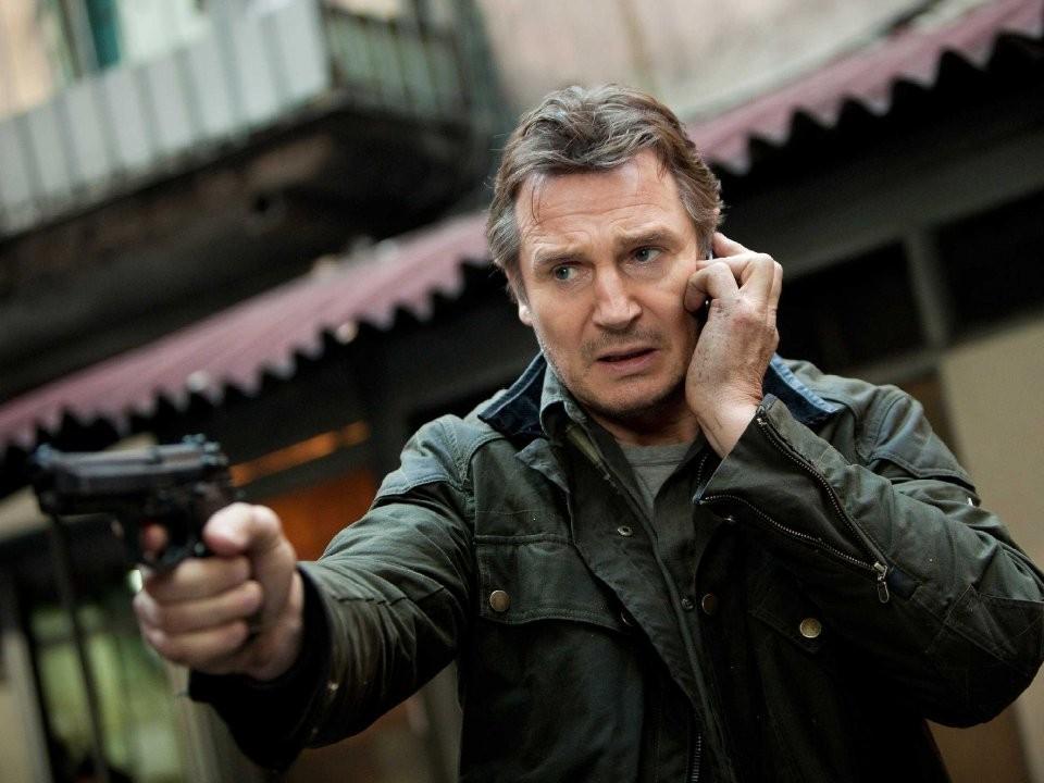 連恩尼遜(Liam Neeson)。(圖/《即刻救援》劇照)