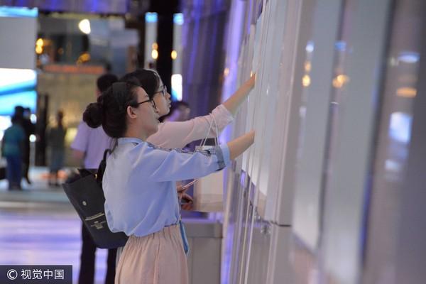 ▲▼中國廣州白雲國際機場的「海天走廊」。(圖/CFP)