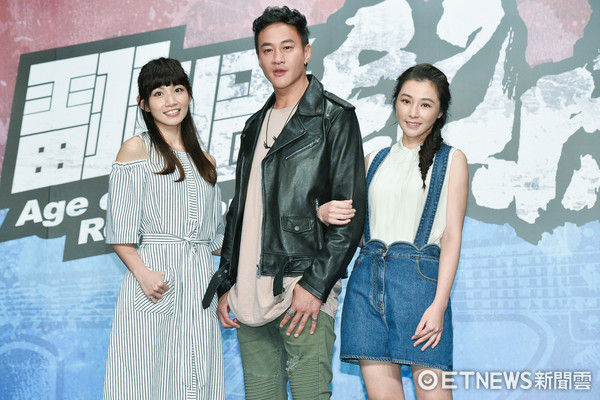 ▲▼何潤東、陳怡蓉、李千娜出席TVBS《翻牆的記憶》開鏡記者會。(圖/記者張一中攝)