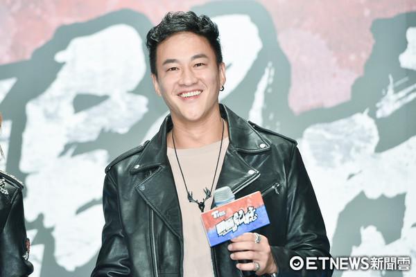 ▲▼何潤東出席TVBS《翻牆的記憶》開鏡記者會。(圖/記者張一中攝)