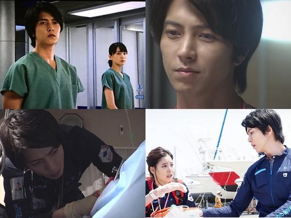 ▲山下智久飾演的「藍澤醫生」展現救人專業,風靡男、女性粉絲。(圖/翻攝自YouTube)