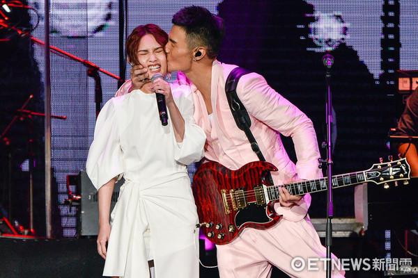 ▲▼楊丞琳出席李榮浩『有理想』世界巡迴演唱會 台北站。(圖/記者張一中攝)