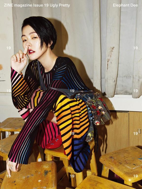 ▲小S时尚封面。(图/ZINE Magazine提供)