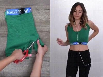 四角內褲→運動背心!超神舊衣回收 GG洞還能當小袋袋