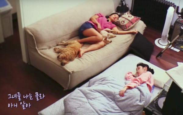 ▲李孝利和李知恩(歌手IU)在「孝利家民宿」中培養出深厚感情。(圖/翻攝自JTBC)