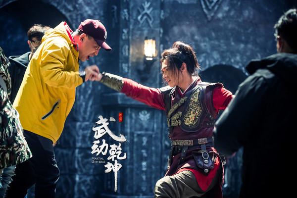 ▲《武動乾坤》導演張黎回應電視劇停拍2月原因。(圖/翻攝自《新浪網》)