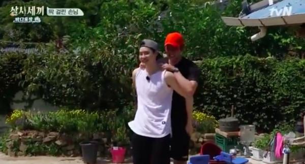 ▲▼李鍾碩聽見Eric講好友壞話! 被騙崩潰「差點哭出來」(圖/翻攝自tvN)