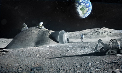 住外太空就像這樣!歐太空署規劃「月球城鎮」 食衣住行育樂都有