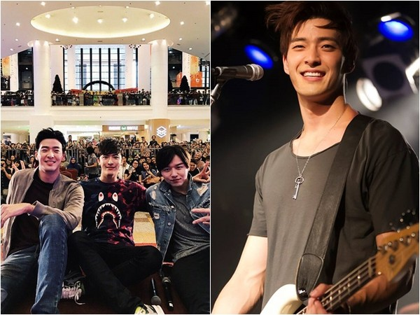 Royal Pirates吉他手James左手截肢。(圖/翻攝自Royal Pirates IG)