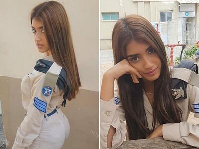 以色列「最美女空軍」,點開IG全是性感艷照