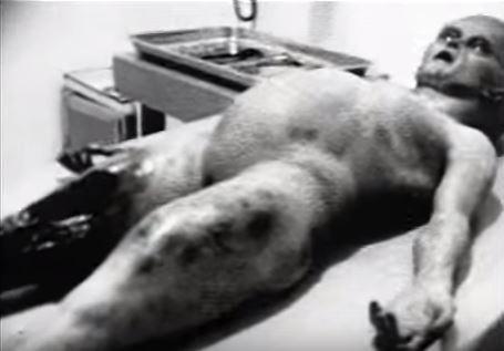 ▲▼ 影片《解剖外星人》(Alien Autopsy)電影製作人梅拉里斯坦承片中的外星人遺體是假的。(圖/翻攝自Youtube)