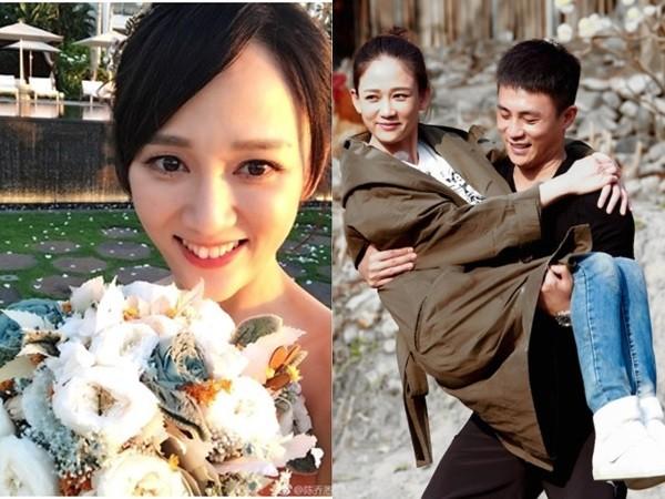 ▲陳喬恩爆出年底與杜淳結婚。(圖/翻攝陳喬恩、杜淳《旋風孝子》微博)