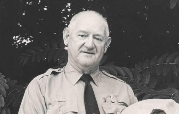 ▲▼美國羅伊(Roy Sullivan)一生被雷劈7次,最後情傷開槍自盡。(圖/金氏紀錄官網)