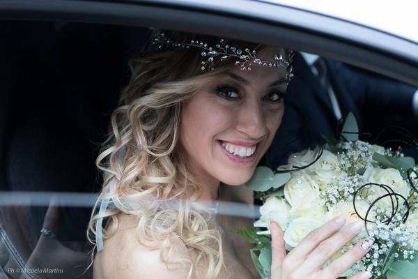 ▲▼梅西和自己的婚禮。(圖/Laura Mesi Sposa Single粉絲專頁)
