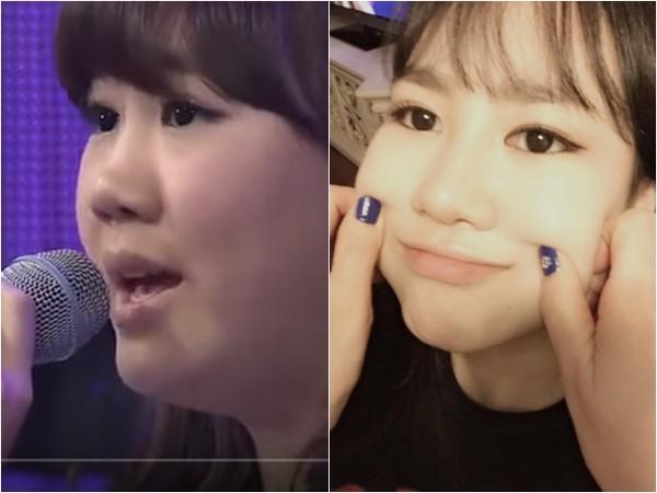 朴智敏臉頰肉沒了。(圖/翻攝自Youtube/SBS Entertainment、朴智敏IG)