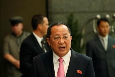 北韓外長李勇浩 6日訪北京