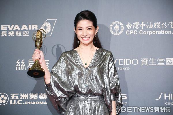 第52屆金鐘奬-迷你劇集/電視電影 女配角獎-李千娜/通靈少女。(圖/攝影中心攝)