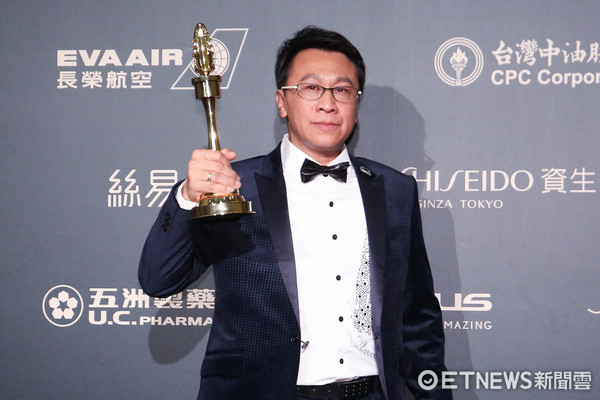 第52屆金鐘奬-戲劇節目男配角獎-游安順/阿不拉的三個女人。(圖/攝影中心攝)