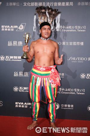 第52屆金鐘奬-人文紀實節目主持人獎-陳耀忠。(圖/攝影中心攝)