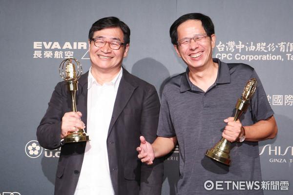 第52屆金鐘奬-生活風格節目主持人獎-王浩一、劉克襄/浩克慢遊。(圖/攝影中心攝)