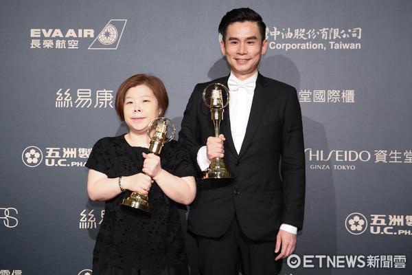 第52屆金鐘奬-戲劇節目編劇獎-杜政哲、楊惠文/酸甜之味。(圖/攝影中心攝)