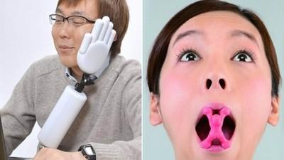 12種「日本獵奇小道具」 沒看過比托腮機械手無用的東西