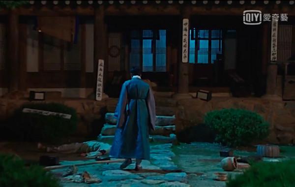 ▲《名不虛傳》倒數第二集,許任穿越回到朝鮮時代。(圖/翻攝自tvN)