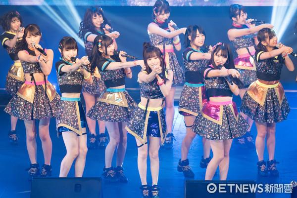 ▲▼日本女團 NMB48亞洲巡演台北場。(圖/記者季相儒攝)