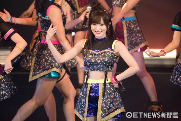 ▲▼日本女團 NMB48亞洲巡演台北場 ,山本彩。(圖/記者季相儒攝)