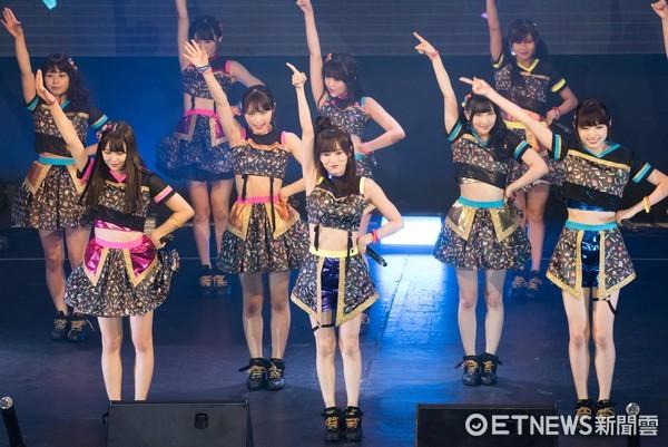 ▲▼日本女團 NMB48亞洲巡演台北場 。(圖/記者季相儒攝)