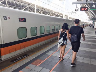 觀光局出招!國際客搭高鐵2人同行1人免費