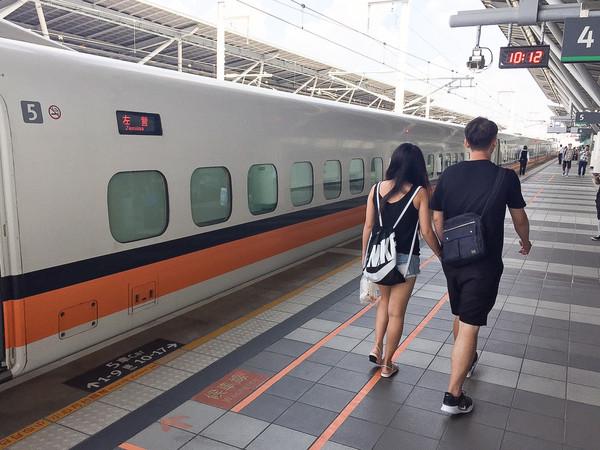 ▲▼高鐵,台灣高鐵,旅客,乘客,車站,返鄉,旅遊,遊客,交通。(圖/記者李毓康攝)