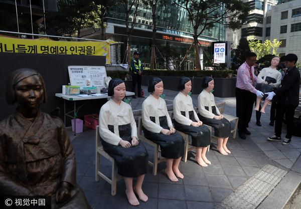 ▲▼南韓慰安婦少女像。(圖/CFP)