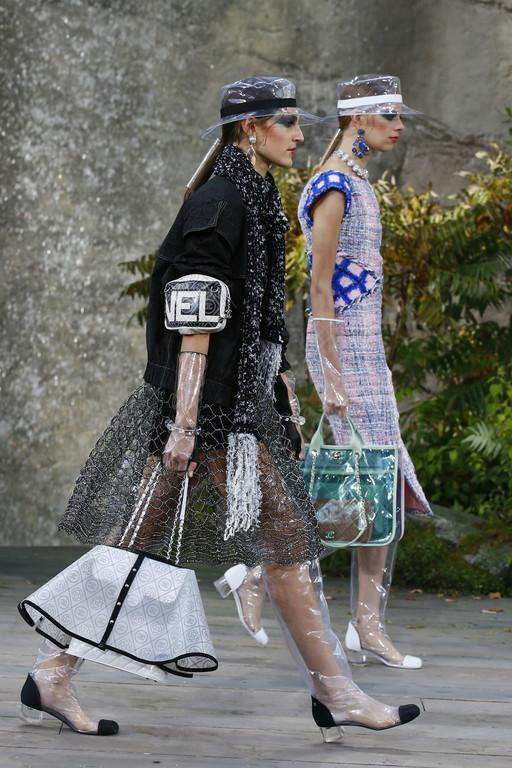 ▲香奈儿巴黎时装周。(图/达志影像/美联社)