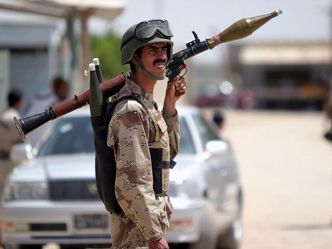 美國,拜登,敘利亞,伊朗,武裝民兵,中東,F-15,RPG,美軍