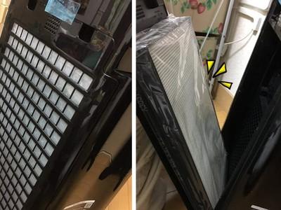 買了空氣清淨機「呼吸好順暢」 2年後打開清:濾網白到發亮