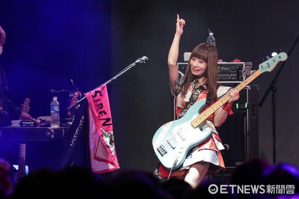 ▲日本女子樂團Silent Siren演唱會。(圖/記者林世文攝)
