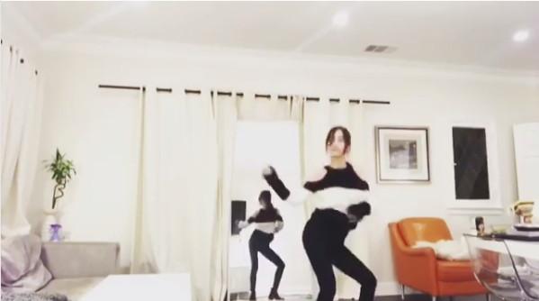 ▲▼韓瑞希跳BlackPink女團舞蹈,引起網友討論。(圖/翻攝自韓瑞希IG)