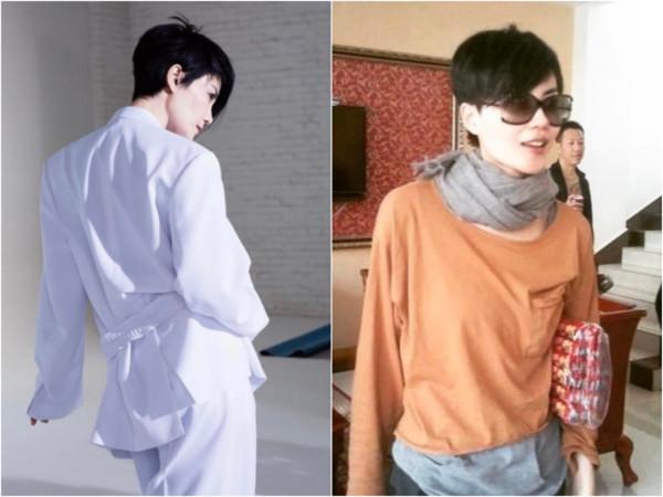 ▲王菲短发造型 。(图/翻摄fayewong_fans IG)