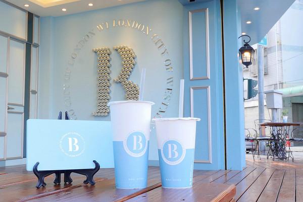 台中英倫風嬰兒藍飲料店 招牌酸甜味「冬露冰梅」