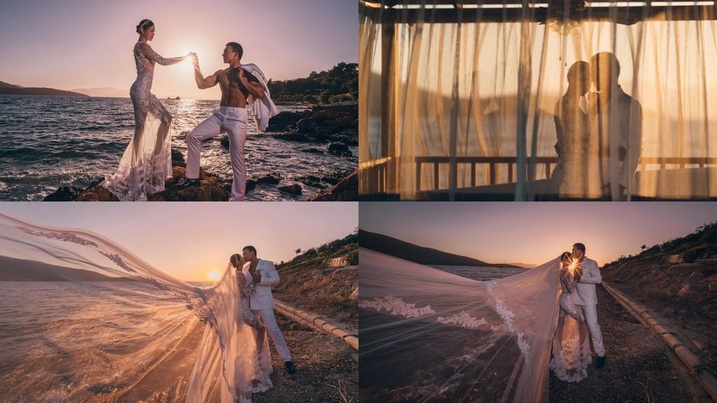 ▲劉畊宏和老婆拍婚紗照。(圖/翻攝自新浪娛樂)