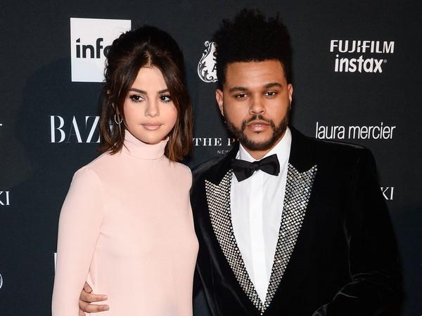 賽琳娜(Selena Gomez)和威肯(The Weeknd)。(圖/達志影像)