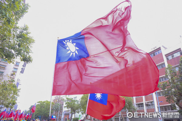 ▲中華民國國旗、愛國、國旗。(圖/記者黃克翔攝)