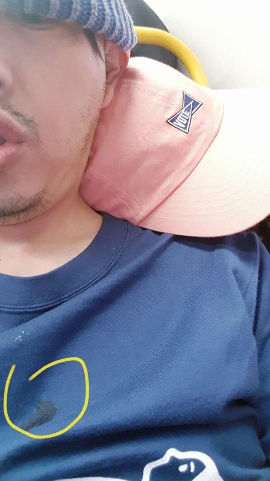 ▲▼黃子佼罕見曬同框照 「耿孟如睡倒在肩上」甜炸!。(圖/翻攝自黃子佼臉書)