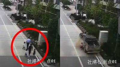 「時速70km卡車」粗輪輾過一家6口 爸媽斷氣..女童嚇到哭不出